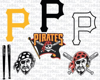 pittsburgh pirates Svg Files, pittsburgh pirates Png, pittsburgh pirates PDF, pittsburgh pirates EPS pittsburgh pirates DXF Instant Download