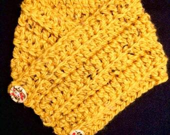 Crochet Cowl, Crochet Scarf, Toddler Cowl, Kids Scarf