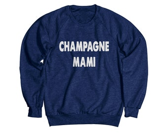 Champagne Mami Heather Sweatshirt
