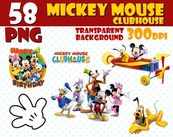 Mickey mouse clipart | Etsy