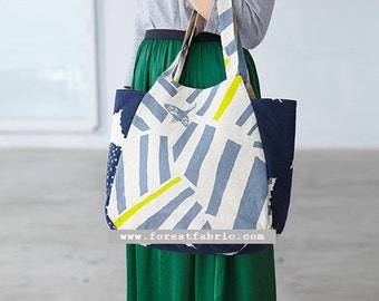 Paper Pattern | Echino Tulip Bag Pattern