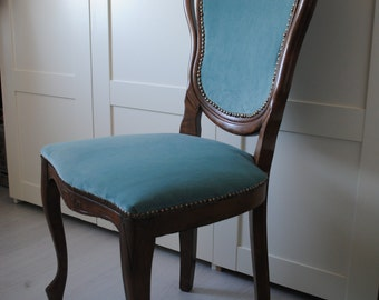 Restored vintage Louis XV style chair