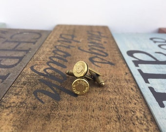 9mm Bullet Cuff Links