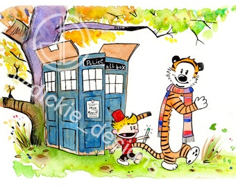 Adventure in Time and Space! (Calvin and Hobbes)