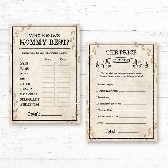 Nice Harry Potter Baby Shower Games Package   6 Games   Digital Printout    Instant Download