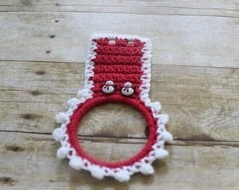 Crochet Towel holders (Two)