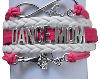 Dance Mom Gift -Dance Mom Bracelet – Dance Gift - Dancing - Perfect for Dance Moms, Dance Coaches & Team Gifts