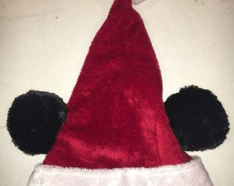 Santa hat with ears