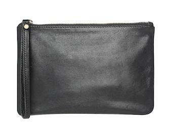 black clutch bag - black clutch - black clutch purse - black leather clutch - black clutches - black clutch bags - black evening clutch