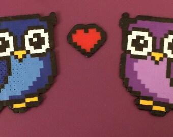 Owl Love Mini Perler Bead Kit