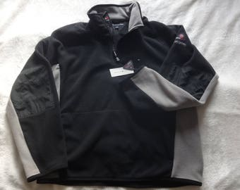 Vintage-new with tags XL Tommy Hilfiger cold stop zip neck fleece
