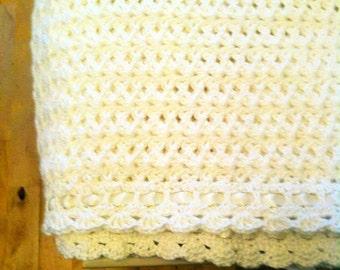 Baptism/Christening Baby Blanket