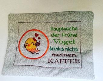 Cup / mug rug