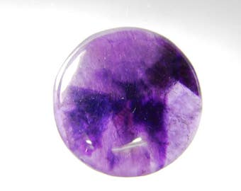 Beautiful- Natural Amethyst rutile cabochon, Amethyst rutile gemstone, Amethyst loose gemstone, Amethyst rutile loose stone 39 Cts. R-1594