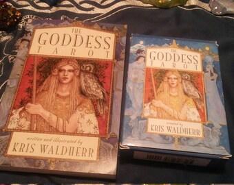 The Goddess Tarot Deck And Book