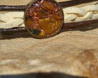 Orgone Bracelet Tigers Eye