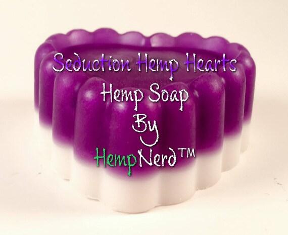 Seduction Hemp Hearts Soap by HempNerd