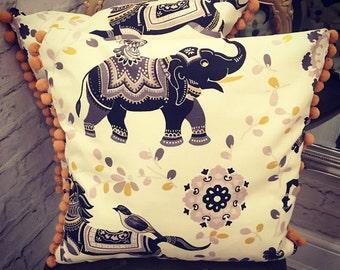 Handmade Elephant Cushion Covers