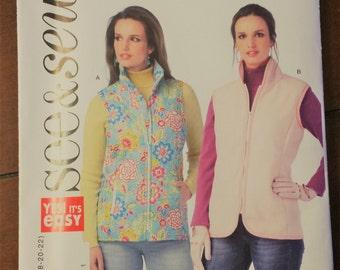 See&Sew Pattern B6081, Vest