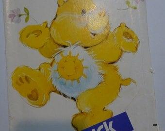 Vintage Butterick Care Bear Funshine Bear Soft Toy Pattern
