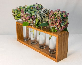 Wooden Vase Holder
