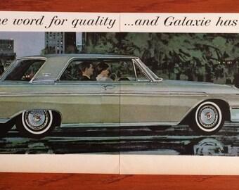 1962 Ford Galaxie Ad