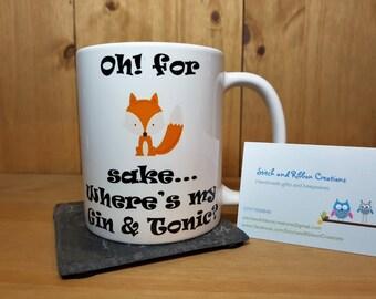 Foxy Gin Mug.