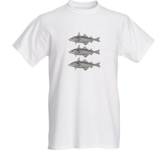 3fish (1.50 from each shirt to go to Cancer Research UK)