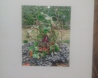Flora sculpture photo