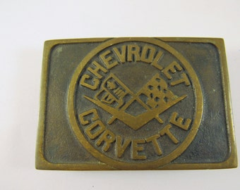 Vintage Chevrolet Corvette Belt buckle