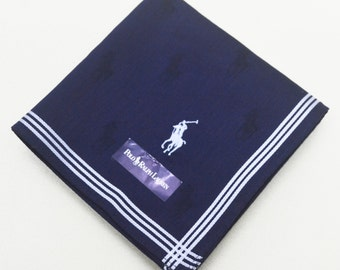 FREE SHIPPING!!! Polo Ralph Lauren Hanky Handkerchief