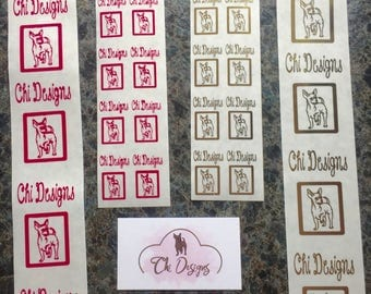 Personalized Stickers, Custom Stickers, Thermal Printed Stickers, Clear Stickers