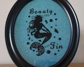 Mermaid bathroom decor | Etsy