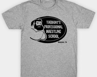 Tugboat's Pro Wrestling School T-shirt