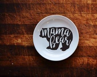 Mama Bear Ring Dish