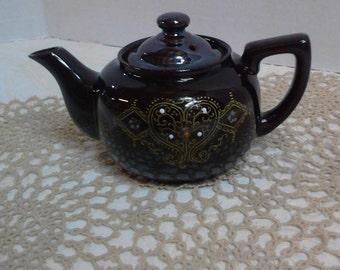 Handpainted Ceramic Mini Teapot made in Japan