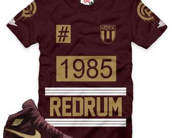 Night Maroon 1 1985 Redrum T-Shirt