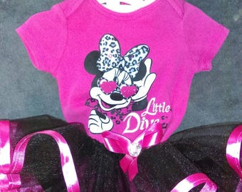 Little Diva Minnie Mouse TuTu Set