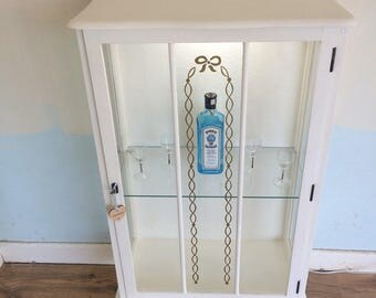 Drinks cabinet or dispaly cabinet with light