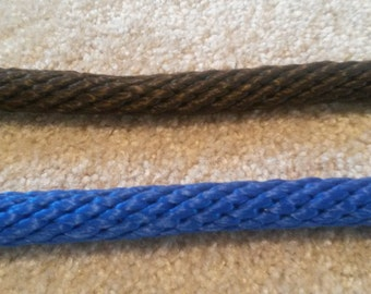 Poly rope 3/4 inch   10 foot length