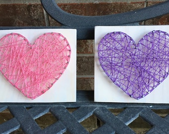 Heart String Art (includes one heart)