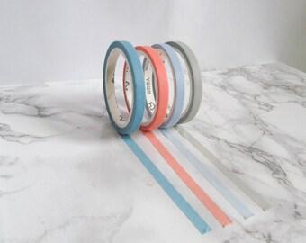 thin washi tape samples
