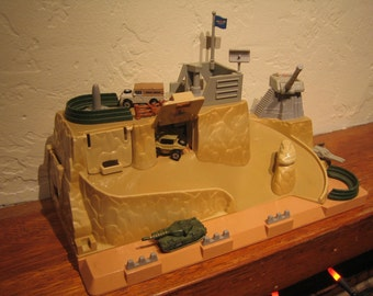 Micro Machines Military Battle Fortress Playset by Galoob Year: 1992