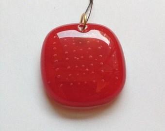 Medium Red Pendant