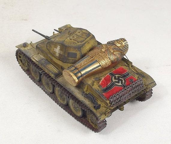 1/35 Built Panzer Africa with Mummy