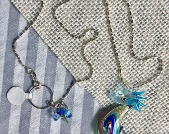 Glass Seahorse Necklace