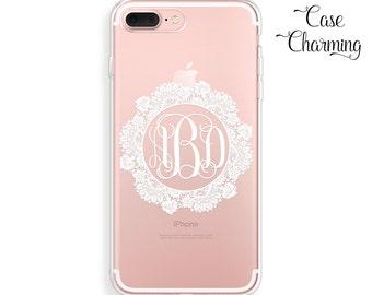 Monogram iPhone 7 Case iPhone 7 Plus Case iPhone 6 Case iPhone 6s Case iPhone 6 Plus Case iPhone 6s Plus Case iPhone SE Case Lace iPhone 5s