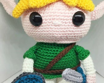 Link from the Legend of Zelda crochet pattern English/Dutch