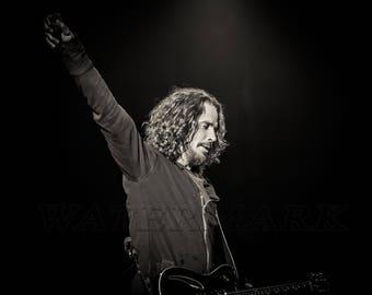 Chris Cornell, SoundGarden, Temple of the Dog, Audioslave, Dream, 8x10, 11x14, 16x20 (JS1628)