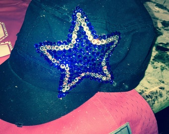 Blinged out hats - baby or adult